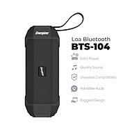 Loa Bluetooth Energizer BTS-104 kiêm sạc dự phòng - Kết nối bluetooth 5.0, Tích hợp micro, hỗ trợ FM radio, thẻ Micro SD, cổng AUX, cổng sạc USB-A - HÀNG CHÍNH HÃNG