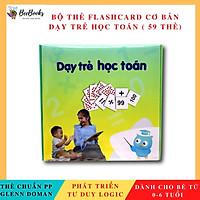 Thẻ Học Thông Minh Giúp Bé Phát Triển Tư Duy- Flashcard - Dạy Trẻ Học Toán Theo Phương Pháp Glenn Doman ( Bộ Cơ Bản 59 Thẻ)