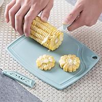 Bộ dao thớt ceramic 3 món cắt trái cây và rau củ văn phòng