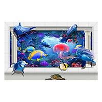 Tranh dán tường động vật 3D 3DW0185