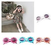 4x Toddler Kids Cute Vintage Flower Eyewear Sunglasses UV400 for