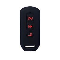 Bọc khóa Smartkey Honda SH, SHmode, PCX (Màu Đen)