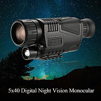 5x40 Multi-functional Digital Night Vision Monocular Telescope with Camera Video Recorder Camcorder Function
