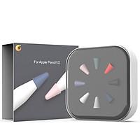 Bộ Đầu Bút Silicone Cao Cấp Bảo Vệ Cho Apple Pencil 1 / Apple Pencil 2