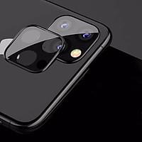 KÍnh Cường Lực Viền Thép Bảo Vệ Camera IPhone 11 Pro / IPhone 11 Pro Max - TITAN CP01 - Hàng Chính Hãng