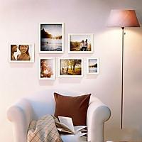 Bộ 6 Khung ảnh Treo Tường phòng khách KA603 Miễn phí phụ kiện.