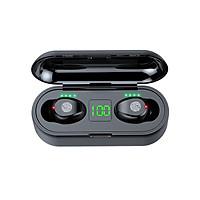 Tai Nghe Bluetooth True Wireless AMOI F9 5.0 Cảm Ứng Vân Tay, Nâng Cấp Dock Sạc có Led Báo Pin Kép - Hàng Nhập Khẩu