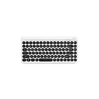 Bàn phím không dây bluetooth 3.0 kiểu dáng phím Retro Actto BTK-01 - Hàng chính hãng