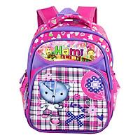 Balo mẫu giáo, nhiều hình dễ thương cho bé gái, HAMI bmg206 - hàng chính hãng