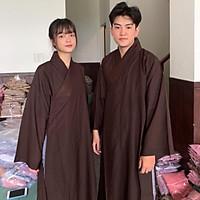 Đồ Lam Đi Chùa # Áo Tràng Phật Tử Vải Đài Loan Cao Cấp# Áo Choàng# Vải Mát