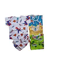 Combo 3 bộ quần áo Bé Trai chất vải Tole, da loại 1, mềm, mịn, thoải mái, thoáng mát, nhiều size từ 5-17kg, hàng Việt Nam chất lượng đồ mùa hè giành cho bé trai, MD103