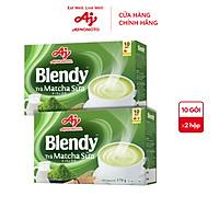 Combo 2 hộp Trà matcha sữa Blendy 170g