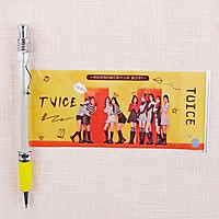 Bút kéo Twice knock knock nhóm nhạc Hàn quốc thiết kế nhỏ gọn tiện lợi dễ sử dụng
