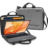 Túi đeo chéo chống va đập Tomtoc Eva for Macbook Pro 13'' Gray (A25-C02G) - Hàng Chính Hãng