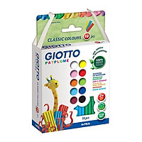 Đất Nặn Giotto Patplume Classic 512900 (10 Màu/Hộp)