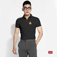 Áo thun nam cao cấp murad_fashion, áo phông nam màu đen thêu logo đẹp phong cách thời trang nam 2021 atn69