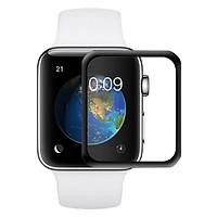 Miếng Dán Cường Lực GLASS PRO+ Cho Apple iWatch / Apple Watch 38 mm / 40 mm / 42 mm / 44 mm Full keo - Hàng Chính Hãng