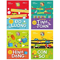 Bộ Sách Siêu Sao Toán Học (Bộ 4 Cuốn) : Chuyên Gia Tính Toán + Những Con Số Biết Nói + Đo Lường Thú Vị + Khám Phá Hình Dạng