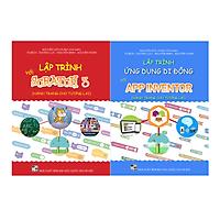 Combo 2 sách Lập trình với Scratch 3 và Lập trình với App Inventor
