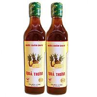 Combo 2 chai Nước chấm chay quả thơm (Hàng xuất khẩu)