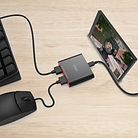 Thiết Bị Bluetooth Không Dây Kết Nối Chuột & Bàn Phím Hỗ Trợ Chơi Game Mobile IPEGA PG-9116 - Hàng Chính Hãng