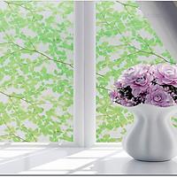 Combo 5m decal giấy dán kính cành cây Xanh (5mx0.6m)-decalsusu