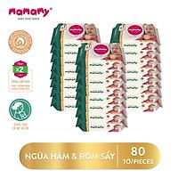 Combo 24 gói Khăn ướt Mamamy 80 tờ/gói kháng khuẩn an toàn cho bé