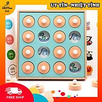 Lật Hình Gỗ Tìm Cặp Giống Nhau Cho Bé || Montessori cao cấp || Đồ chơi Gỗ - Giáo dục - An toàn - Thông minh