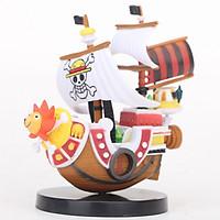 Mô hình thuyền Thousand Sunny cực đẹp team Luffy - One Piece cao 14cm