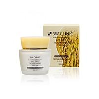Kem dưỡng sâu gạo 3w Clinic RICE DEEP NOURISHING CREAM