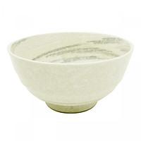 Bát tô sứ Ceramic Ramen màu trắng - Nội địa Nhật Bản