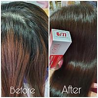Kem nhuộm tóc kirin màu nâu Chocolate (6/77) bổ sung dưỡng chất collagen cho tóc mềm mượt
