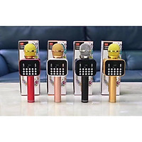 Micro kèm Loa Bluetooth K316 mic hát karaoke K-316