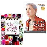 Combo Sách Làm Đẹp - Chăm Sóc Sức Khỏe: Thánh Kinh Dưỡng Da + Tự Làm Mỹ Phẩm (tặng kèm bookmark thiết kế)