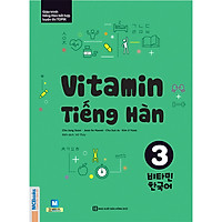 Vitamin Tiếng Hàn 3 (Học Kèm App: MCBooks Application) (Tặng Thước Đo Chiều Cao Cho Bé)