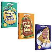 Sách - Thương Vụ Nước Chanh (Trọn bộ 3 tập) - Câu chuyện kinh điển về giáo dục tài chính của trẻ em Mỹ