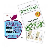 Combo 2 cuốn : How Food Works Hiểu biết về thức ăn + Nhân tố Enzyme Phương thức sống lành mạnh (tặng kèm bookmark)