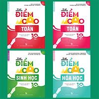Combo Bí quyết chinh phục điểm cao Toán 10 (tập 1 + tập 2) + Hóa học 10 + Sinh học 10