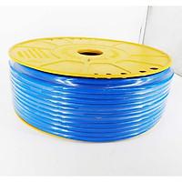 Cuộn dây ống dẫn khí nén PU 4x6 mm xanh