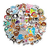 Bộ 50 miếng Sticker hình dán Cute Pet