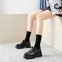 Giày bốt nữ thấp cổ oxforrr mới