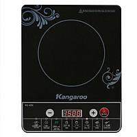 Bếp Điện Từ Kangaroo KG420i (Đen) - Kèm Nồi Lẩu - Hàng chính hãng