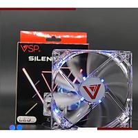Fan Case V-101 LED Trong Suốt (12cm) - lk1984 - hàng nhập khẩu