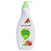 Sữa Dưỡng Thể Hazeline Dưỡng Trắng Da Matcha Lựu Đỏ 67183438 (370ml)