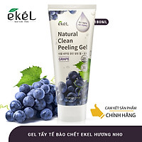 Tẩy tế bào chết nho Ekel natural clean peeling gel grape 180ml