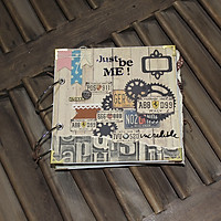 Scrapbook Ảnh Vintage Just Be Me