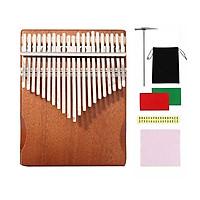 Đàn kalimba 21 phím chơi nhiều bài hơn kèm phụ kiện đầy đủ M21-KALIMBA dành cho bạn mới tập chơi -Tặng Tab 24 bài nhạc soạn riêng cho kalimba 21 phím (MÀU XANH NGỌC)