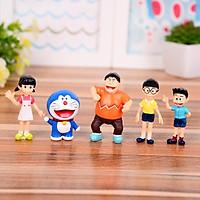 Bộ mô hình truyện tranh Doraemon, Chaien, Xeko, Nobita, Xuka MA8110