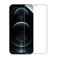 Miếng dán kính cường lực iPhone 12 / iPhone 12 Pro (6.1 inch) hiệu ANANK Nhật Bản Độ cứng 9H, Vát cạnh 2.5D, hạn chế bám vân tay, màn hình hiển thị Full HD - Hàng nhập khẩu