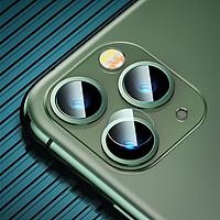 Kính Cường Lực Camera 5 Lớp Chống Trầy 0.15MM Baseus Sapphire Lens Glass Film cho Iphone 11/ 11 Pro/ 11 Pro Max (Sản phẩm gồm 2 Bộ)_ Hàng Chính Hãng